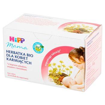 HiPP BIO Mama Herbatka dla kobiet karmiących 30 g (20 torebek)