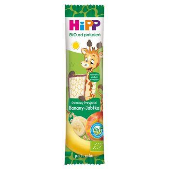 HiPP BIO Owocowy Przyjaciel Owocowy batonik dla małych dzieci po 1. roku banany-jabłka 23 g
