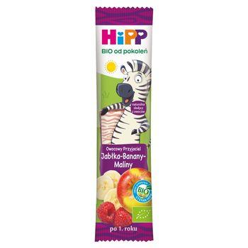 HiPP BIO Owocowy Przyjaciel Owocowy batonik dla małych dzieci po 1. roku jabłka-banany-maliny 23 g