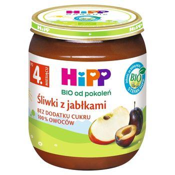 HiPP BIO Śliwki z jabłkami po 4. miesiącu 125 g