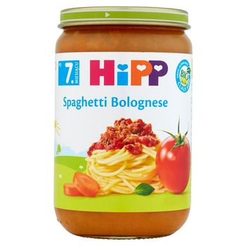 HiPP BIO Spaghetti Bolognese po 7. miesiącu 220 g
