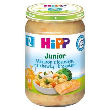 HiPP Junior Makaron z łososiem marchewką i brokułami po 12. miesiącu 250 g