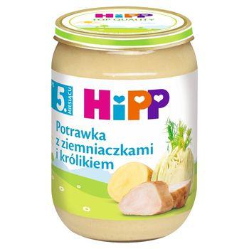 HiPP Potrawka z ziemniaczkami i królikiem po 5. miesiącu 190 g
