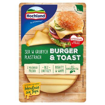 Hochland Burger & Toast Ser w grubych plastrach 135 g