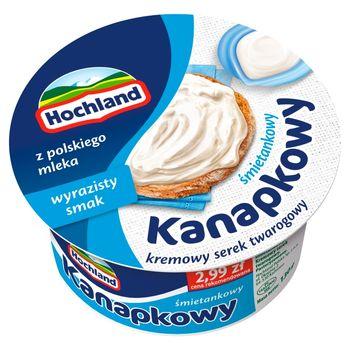 Hochland Kanapkowy serek kremowy śmietankowy 130 g