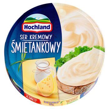 Hochland Ser kremowy śmietankowy w trójkącikach 180 g
