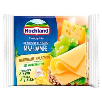Hochland Ser kremowy Maasdamer w plastrach 130 g