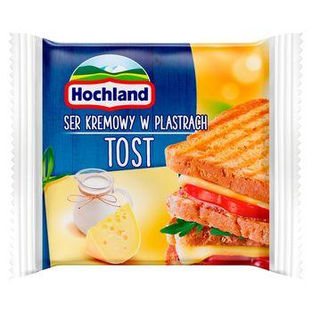 Hochland Ser kremowy w plastrach Tost 130 g