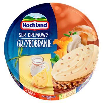 Hochland Ser kremowy w trójkącikach grzybobranie 180 g