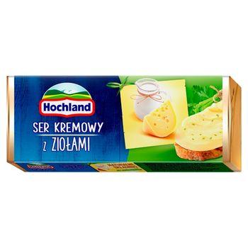 Hochland Ser kremowy z ziołami 90 g
