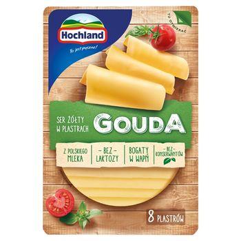 Hochland Ser żółty Gouda w plastrach 135 g
