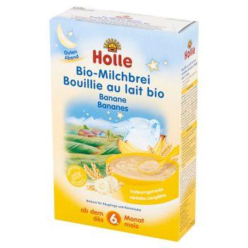 Holle Bio kaszka mleczna bananowa dla niemowląt od 6. miesiąca życia 250 g