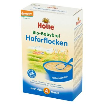 Holle Bio kaszka owsiana dla niemowląt powyżej 4. miesiąca życia 250 g
