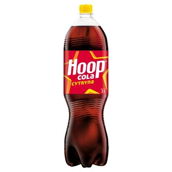 Hoop Napój gazowany cola cytryna 2 l