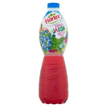 Hortex Napój wieloowocowy jabłko jagoda mięta 1,75 l