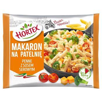 Hortex Makaron na patelnię penne z sosem serowym 450 g