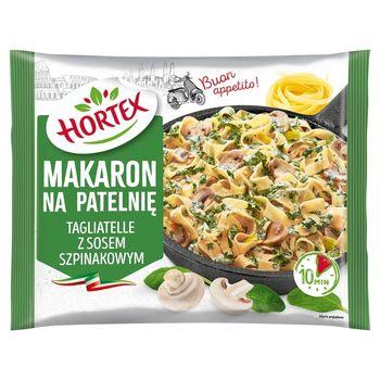 Hortex Makaron na patelnię tagliatelle z sosem szpinakowym 450 g
