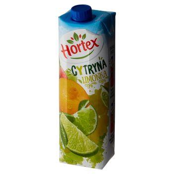 Hortex Napój wieloowocowy cytryna limonka 1 l