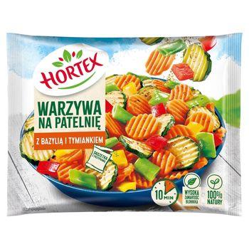 Hortex Warzywa na patelnię z bazylią i tymiankiem 450 g