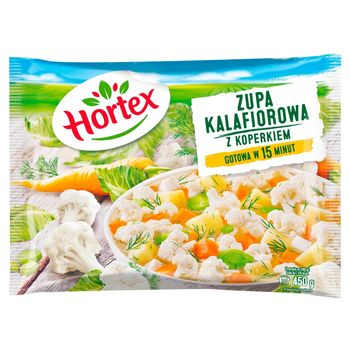 Hortex Zupa kalafiorowa z koperkiem 450 g