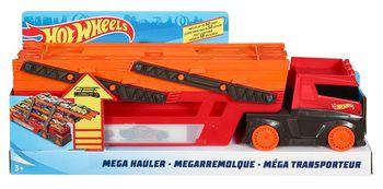 Hot Wheels Mega transporter laweta na 50 autek