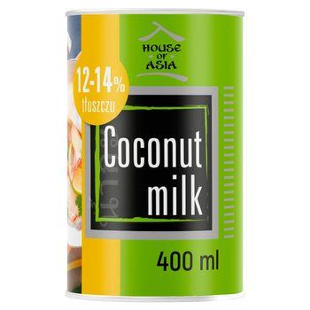 House of Asia Mleczko kokosowe 12-14% 400 ml