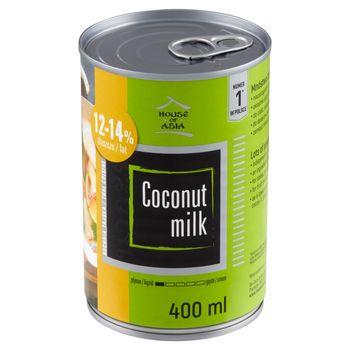 House of Asia Produkt roślinny z kokosa 12-14% 400 ml