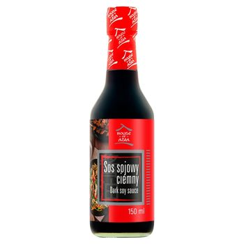 House of Asia Sos sojowy ciemny 150 ml