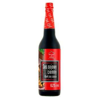 House of Asia Sos sojowy ciemny 625 ml