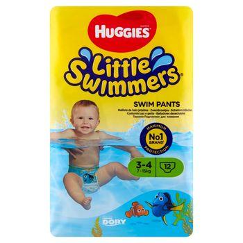 Huggies Little Swimmers Majteczki do pływania 3-4 7-15 kg 12 sztuk