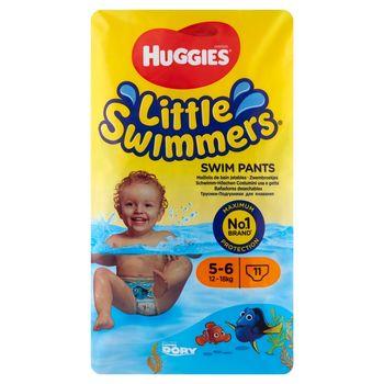 Huggies Little Swimmers Majteczki do pływania 5-6 12-18 kg 11 sztuk