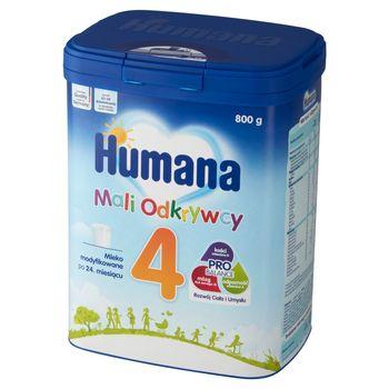 Humana 4 Mali Odkrywcy Mleko modyfikowane po 24. miesiącu 800 g