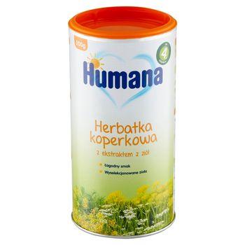 Humana Herbatka koperkowa z ekstraktem z ziół po 4. miesiącu 200 g