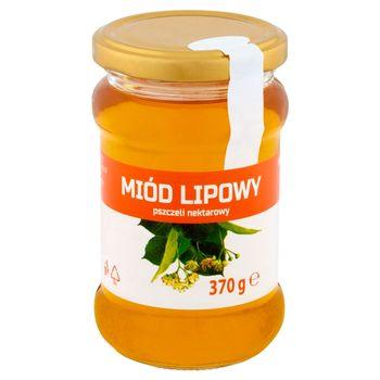 Huzar Miód lipowy pszczeli nektarowy 370 g