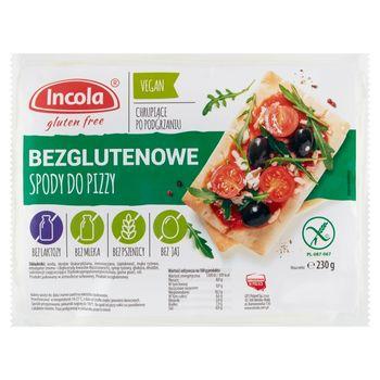Incola Spody do pizzy bezglutenowe 230 g