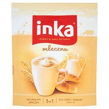 Inka Napój na bazie rozpuszczalnej kawy zbożowej z mlekiem 200 g