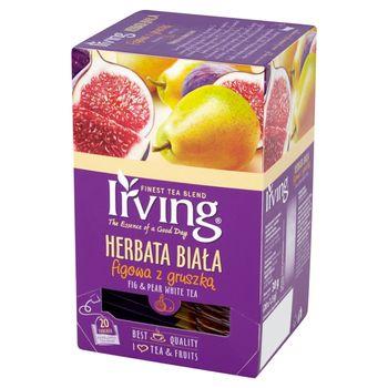Irving Herbata biała figowa z gruszką 30 g (20 torebek)