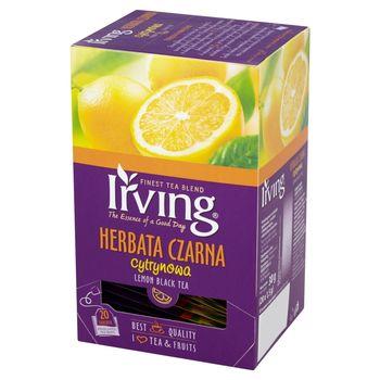 Irving Herbata czarna cytrynowa 30 g (20 torebek)