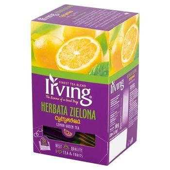 Irving Herbata zielona cytrynowa 30 g (20 torebek)