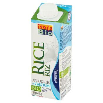 Isola Bio Napój ryżowy z wapniem Bio 250 ml