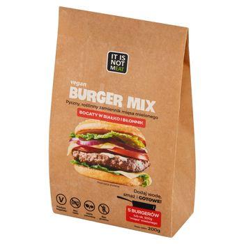 It is not mEAT Burger Mix Roślinny zamiennik mięsa mielonego 200 g