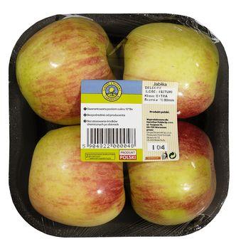 """Jabłka """"Jakość z Natury Carrefour"""", tacka 4 szt."""