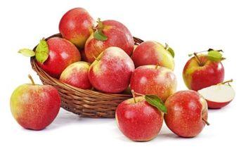 Jabłka Ligol ważone