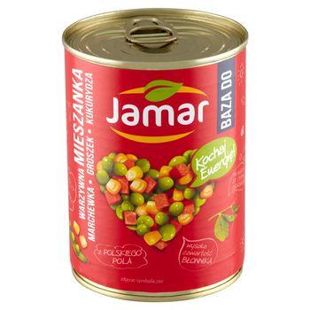 Jamar Mieszanka warzywna marchewka groszek kukurydza 380 g