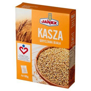 Janex Kasza gryczana biała 400 g (4 x 100 g)