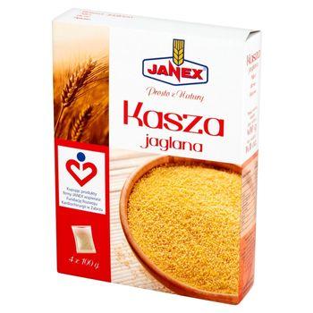 Janex Kasza jaglana 400 g (4 torebki)