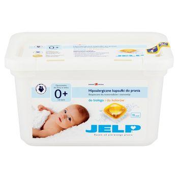 JELP 0+ Hipoalergiczne kapsułki do prania do białego i kolorów 264 g (11 x 24 g)