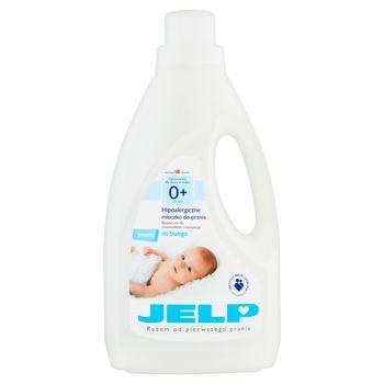 JELP 0+ Hipoalergiczne mleczko do prania do białego 1,5 l (18 prań)