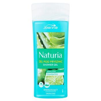 Joanna Naturia Żel pod prysznic aloes limonka 100 ml