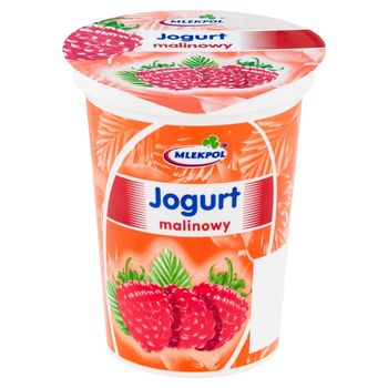 Mlekpol Jogurt malinowy 400 g